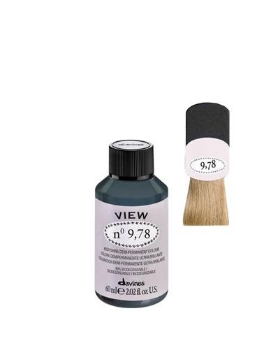 Davines Davines View Yarı Kalıcı Saç Boyası 9,78 Çok Açık Kumral Bej Yeşil 60 Ml Renksiz
